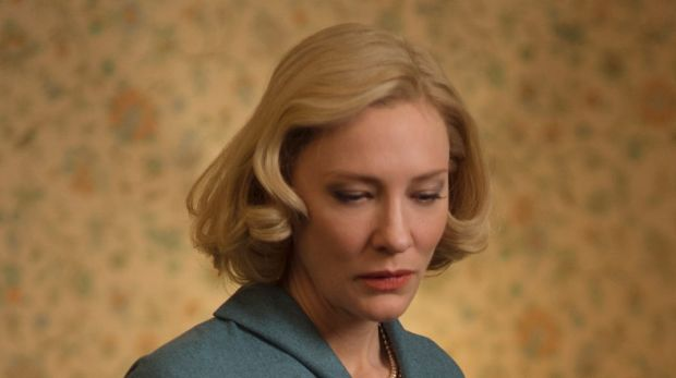 Cate Blanchett (left) and Rooney mara (seated) in Todd Haynes' <i>Carol</i>, based on Patricia Highsmith's The Price of Salt