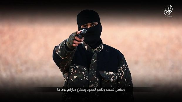 The militant being called the new 'Jihadi John' in a video from Islamic State. An IS militant has reportedly executed ...