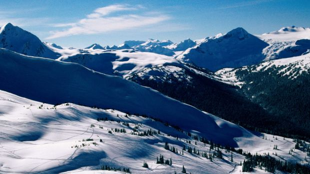 The man died after losing control of his snowmobile on Blackcomb Mountain.