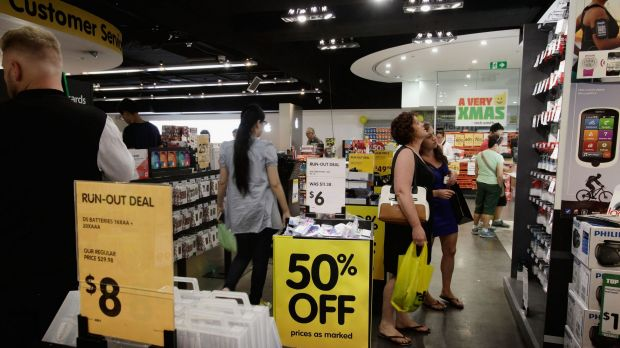 While the Dick Smith electronics group undertook a massive pre-Christmas sale it appears to have been insufficient.