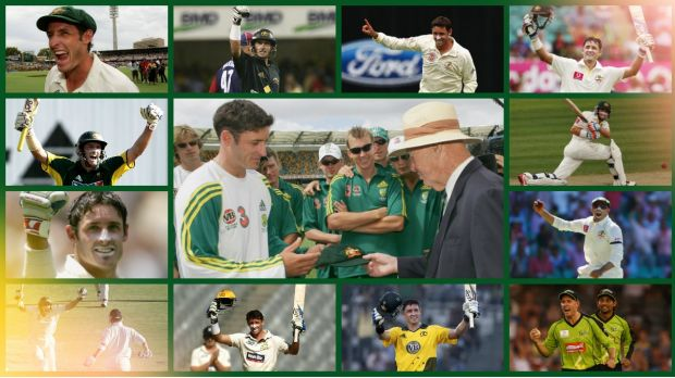A true champion: Mike Hussey has experienced many highlights during his career.
