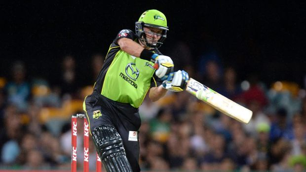 On his way out: Mike Hussey is close to the end of his glittering career.