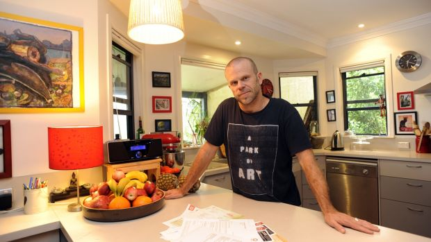 Bill shock: Clunes resident Russell Mills faced a 41 per cent rise for his green energy.