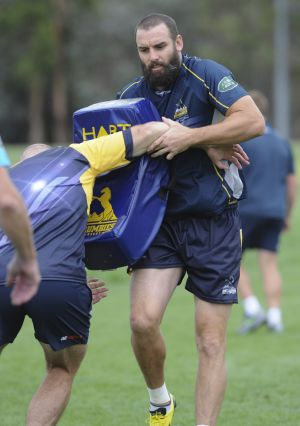 Brumbies flanker Scott Fardy had more than 100 stitches after his games for the Wallabies last year.