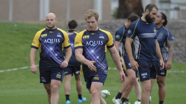 Brumbies coach Stephen Larkham has a plethora of leaders to choose from this year, including Stephen Moore, David Pocock ...