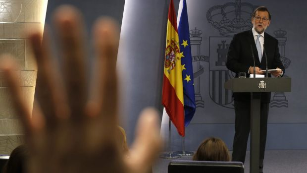 Spain's acting Prime Minister Mariano Rajoy hasn't found the numbers to form a new government.