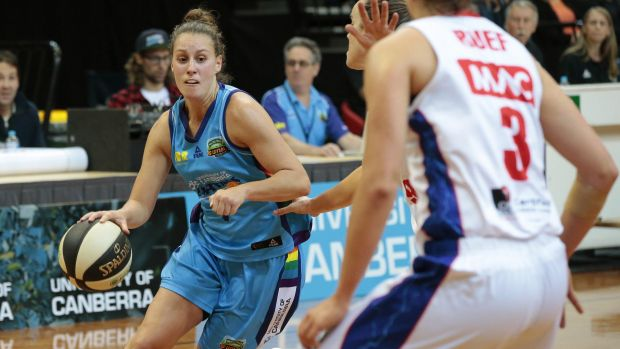 New move: The Canberra Capitals will meet Perth at Belconnen Basketball Stadium on Saturday.