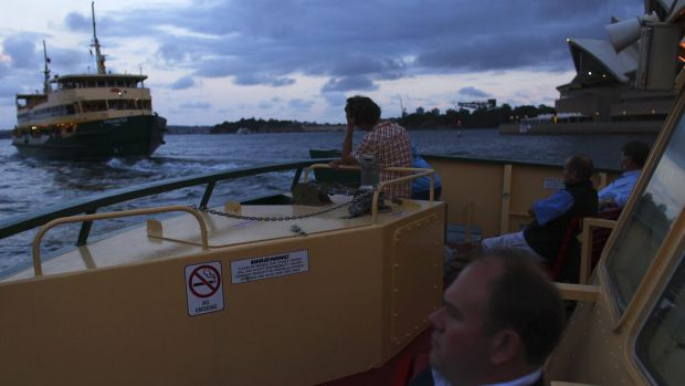 A late afternoon ferry to Mosman.
