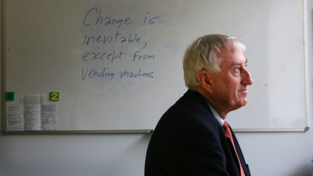 Peter Doherty, Nobel laureate and head of the Peter Doherty Institute for Infection and Immunity in Melbourne won't be ...