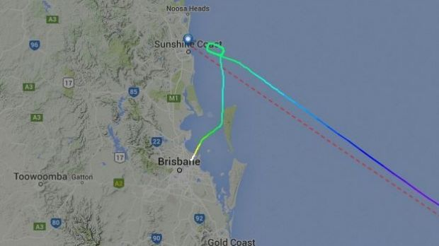 Air New Zealand flight NZ769 from Auckland to the Sunshine Coast was among at least six flights diverted to Brisbane on ...