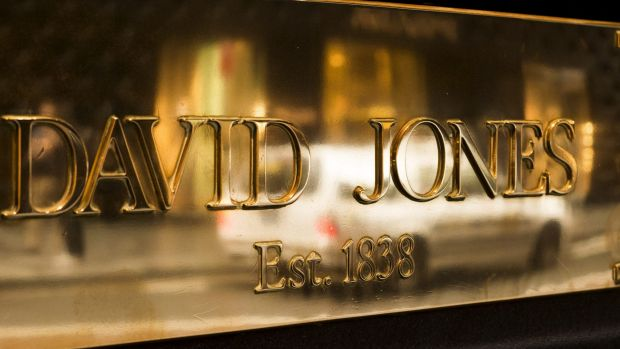 My first big love came out of David Jones, as did my first big break in the newspaper cartooning.