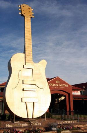 Punters will make pilgrimages to the big Golden Guitar during the 2016 Tamworth Country Music Festival.