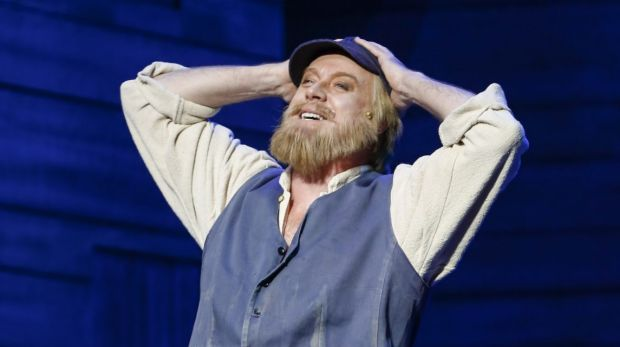 The new Melbourne production of Fiddler on the Roof, starring Anthony Warlow and Sigrid Thornton.