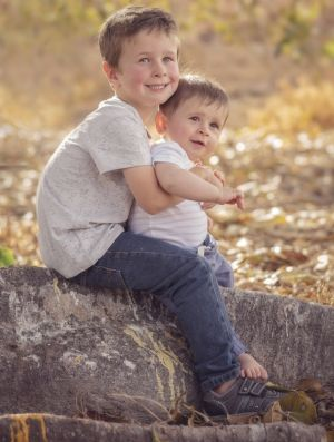 Koda, 4, and Hunter Little, nine months, were killed after their father drove the family station wagon off a wharf.