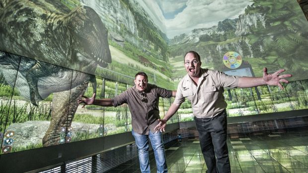 QUT and the Queensland Museum has partnered to create Dino Zoo, a hyper-realistic, scientifically accurate rehistoric ...