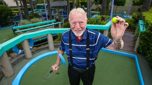 Tom Wykoff, who originally built Putt Putt in 1969 at Ermington.