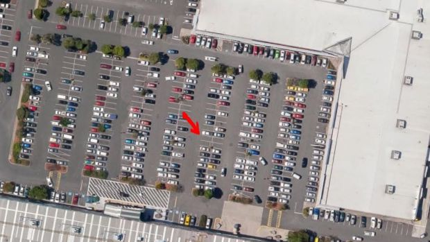 The location of the Brisbane Bunnings black spot.
