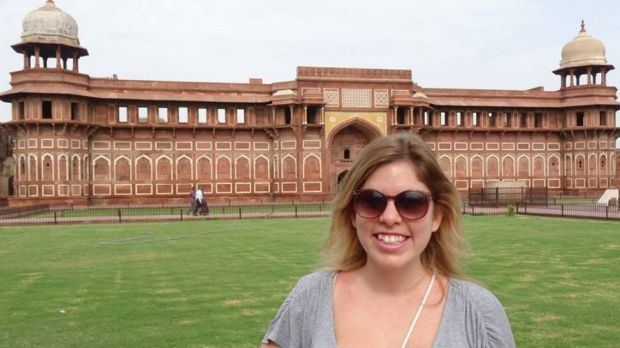 Since travelling to India, Amanda Dumesny wanted to become a nurse and help save lives.