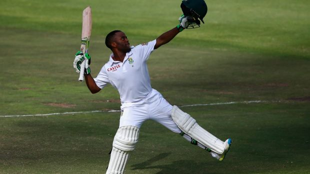 Local hero: Temba Bavuma of South Africa.