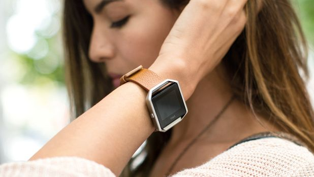 Shares of Fitbit, the maker of popular fitness tracking devices, sank 18 per cent on Tuesday.