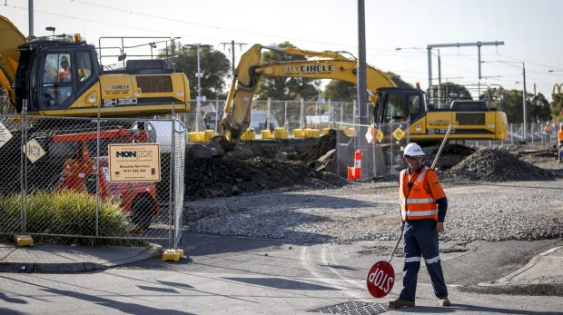 The St Albans level crossing removal project has caused disruptions to rail and road commuters.