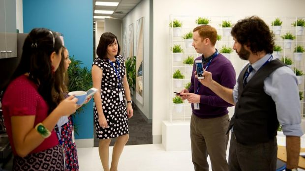 Indoor plants feature prominently in an episode of the ABC comedy series Utopia.