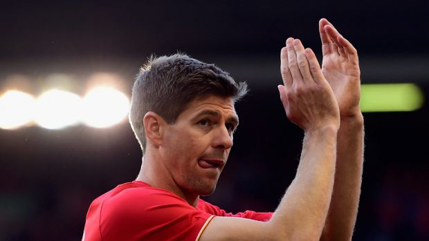 No offers from Down Under: Liverpool legend Steven Gerrard.
