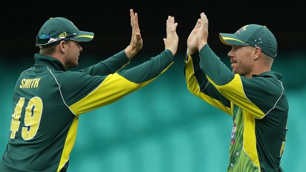 Steve Smith and Dave Warner both make our pick for the Aussie squad heading to the T20 World Cup in India.
