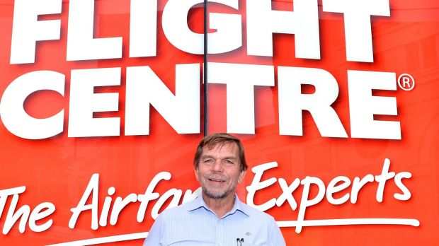 Flight Centre managing director Graham Turner has been looking to add more budget airline inventory to the travel ...