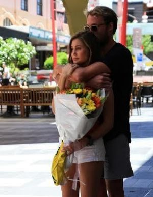 Cole Miller: Cole's brother Billy, an Australian water polo player, mourns his brother at a service in Chinatown Mall.