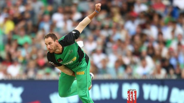 In form: John Hastings is the Melbourne Stars' leading wicket-taker in the BBL.