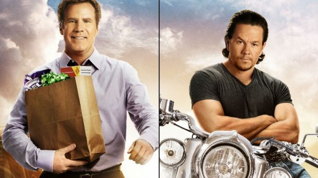 New comedy Daddy's Home stars Will Ferrell and Mark Wahlberg.