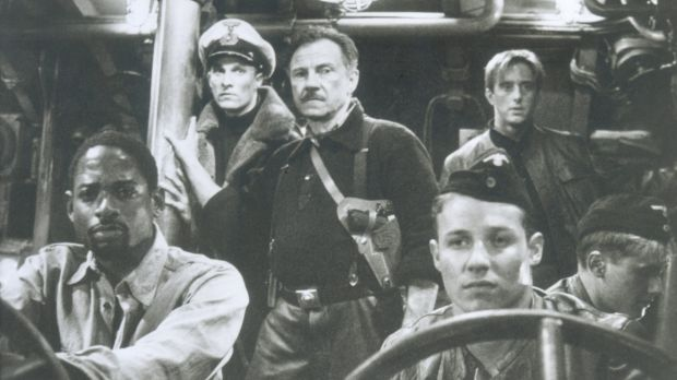 Still from the movie <i>U-571</i>, starring Matthew McConaughey and Harvey Keitel (centre). The movie was a ...