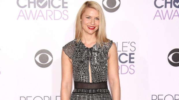 Winner on the red carpet:  Actress Claire Danes.