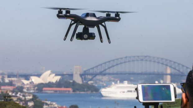 Drones are off-limits for the harbour during Australia Day celebrations.
