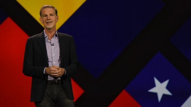 """Reed Hastings, the founder of Netflix, said """"Trump's actions are hurting Netflix employees around the world, and are so ..."""