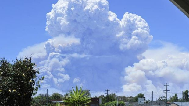 Residents say a 'demon cloud' was soon followed by something much worse.