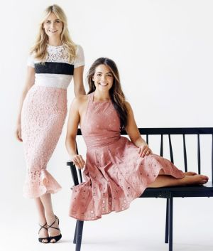 Jeep Portsea Polo Marquee ambassadors, Anna Bamford and Olympia Valance, styled by Mikey Ayoubi for the big day.