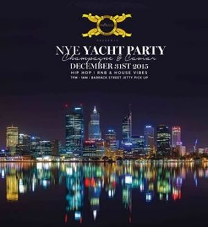 The organisers of the mysterious masquerade ball also hosted New Year's Eve yacht party which wasn't well received.