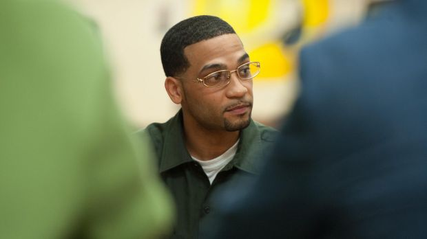Student and prison inmate Danny Contreras at the Bard Prison Initiative at the Fishkill Correctional Facility, New York, ...