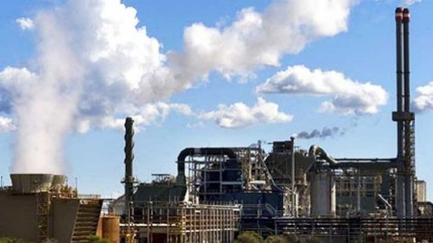 Alcoa's alumina refining operations have not been affected by the blaze.
