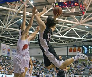 Scores are level, five seconds on the clock, Chris Goulding flies toward the basket and is fouled. He converted one free ...