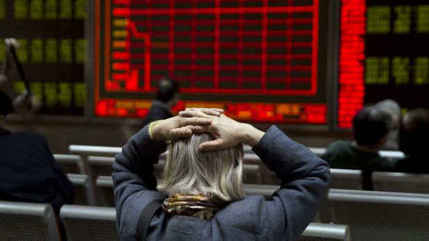 China's CSI 300 Index plunged 7.2 per cent on Thursday, triggering an automatic shutdown within 30 minutes of the open.
