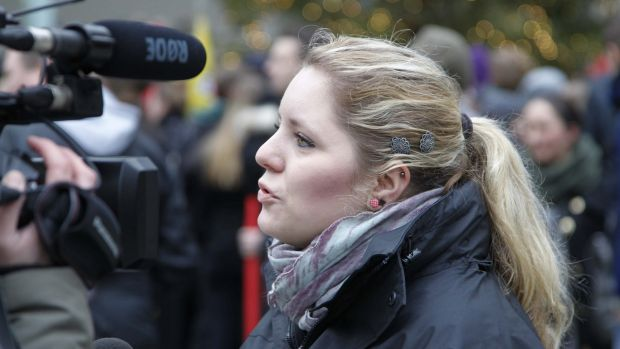 Twenty-six-year-old student Antonia Rabente, a Cologne resident who was not among the victims, speaks about  the attacks ...