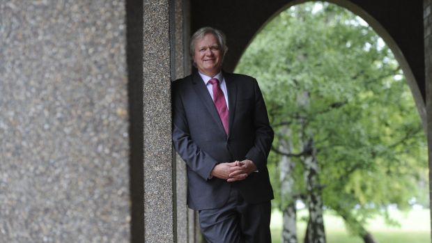 Newly appointed vice-chancellor of the Australian National University, Prof. Brian Schmidt.