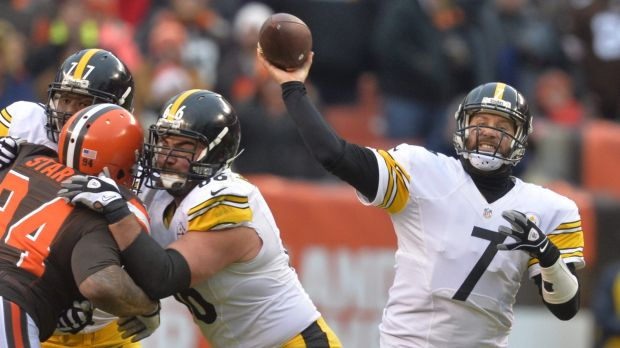 Can they do it again?: Ben Roethlisberger and the Steelers will be looking to continue Cincinnati's post-season misery.