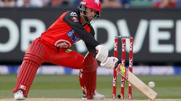 Batting on: Melbourne Renegades star Matthew Wade is eyeing the 2019 World Cup.