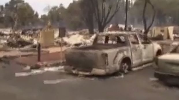 Three people remain unaccounted for in WA's fire zone.