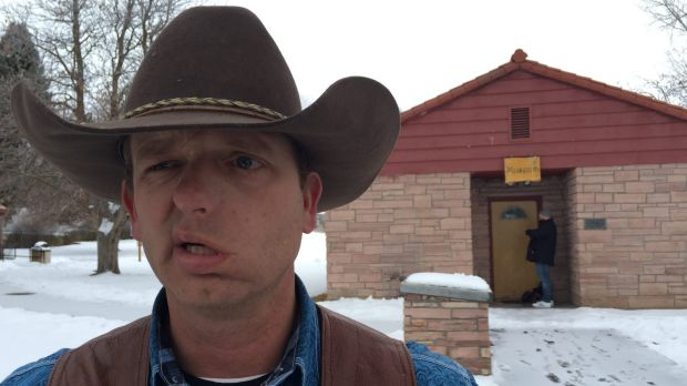 Ryan Bundy, part of the growing US militia movement that has sprung in opposition to Barack Obama's efforts to increase ...