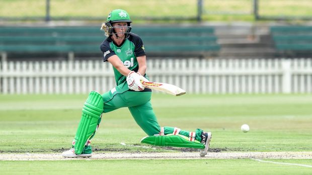 Stars captain Meg Lanning is happy with where her team finds itself.